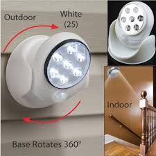 New Motion Activated Sensor Stick Up Led Light Wall L On The