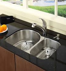 Functional Double Basin Kitchen Sink Home Design Lover - Kitchen basin sinks
