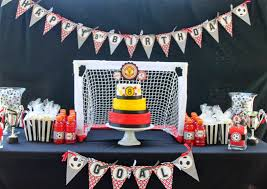 Soccer Theme Party Decorations So Cute Parties September 2013
