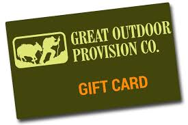 gift card company gift card great outdoor provision company