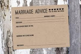 advice for and groom cards 50 wedding advice cards and groom advice cards