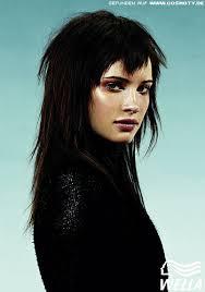 Frisuren Lange Haare Rockig by Rockiger Fransenschnitt Frauen Frisuren Bilder Cosmoty De