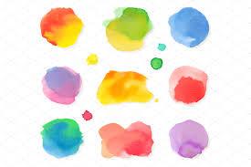 6 splash design textures creative market