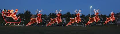 Christmas Decorations Santa Sleigh And Reindeer by Santa Claus The Real Grinch Of Christmas The Big Deal