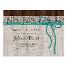 rustic save the date postcards rustic country wedding invitations