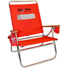 Kelsyus Premium Canopy Chair Red by Slot Beach Chair Red