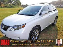 lexus rx 350 for sale in gauteng welcome to durban north auto sales