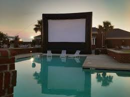 How To Make A Backyard Movie Theater Traveling Screens U2013 Cinema Under The Stars Outdoor Movies