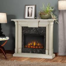 real flame maxwell 48 in electric fireplace in whitewash 7030e ww