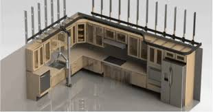 Mid Level Kitchen Cabinets by Preliminary Design Of An Overhead Kitchen Robot Appliance