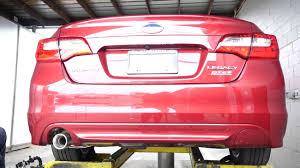 subaru legacy red 2017 2017 subaru legacy ecohitch installation youtube