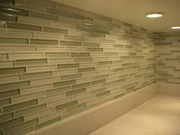 How To Install A Glass Tile Backsplash In The Kitchen Glass Mosaic Tile Backsplash Lowes The Clayton Design