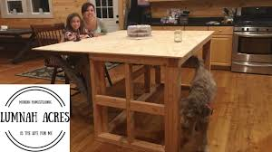 how to build a kitchen island with seating kitchen island build part 1