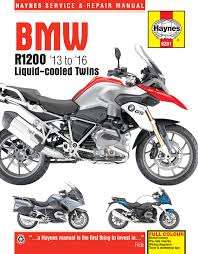bmw r1200 liquid cooled twins 13 16 haynes repair manual