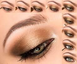 review tutorial makeup sehari hari bronze gold brown eye makeup adore these colours looks good on