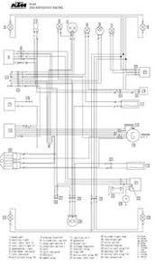 ktm electrical wiring diagrams 4strokes com