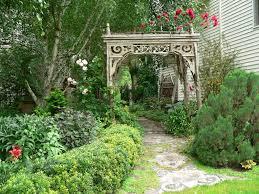 Garden Arch Plans by Garden Arch With Gate Garden Ideas U0026 Designs