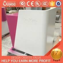 Pink Glass Desk Pink Reception Desk Pink Reception Desk Suppliers And