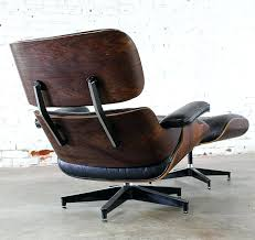 vintage eames lounge chair and ottoman lounge chair and ottoman vintage lounge chair ottoman in black