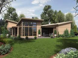 Prairie Home Style Small Cottage House Plan Shingle Home Design The Scandia Modern