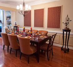 Dining Room Furniture Maryland by Danziger Design Maryland Interior Designer Uses Wall Fabric In A