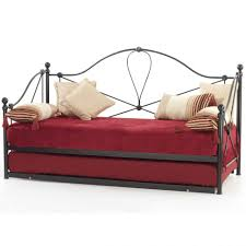 uncategorized vintage metal daybed white daybed with trundle bed