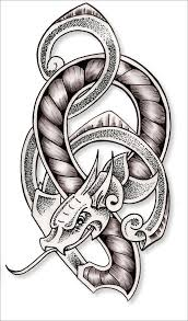 celtic dragon knot by kimmers tattoos on deviantart dragons