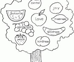 catchy fruit of the spirit coloring pages fruit of the spirit