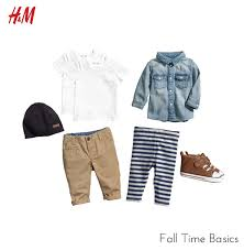 H M Fall Time Basics Baby Boy Style H M S I M P L Y