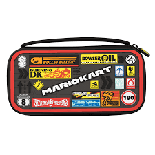 amazon com pdp nintendo switch mario kart deluxe travel case for