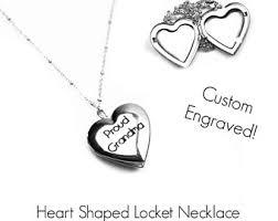 personalized heart locket custom heart locket etsy