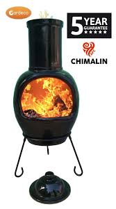 Extra Large Chiminea Cover Gardeco Asteria Chimalin Afc Extra Large Chimenea Black Garden