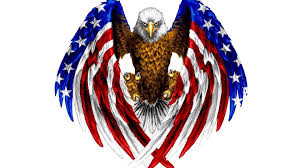 American Flag To Color Bald Eagle In Color Of American Flag Red Blue And White Color