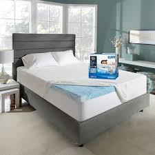 soothingcool 3 inch gel memory foam mattress topper