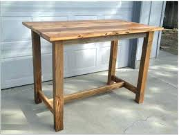 rectangle high top table rustic high top tables table furniture atelier kitchen full size of