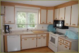refinish oak kitchen cabinets refinished oak kitchen cabinets incredible home design
