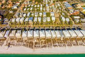 Destin Beach Florida Map by Destin