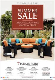 summer sale today u0027s patio furniture and decor diego ca