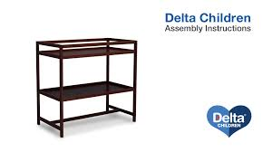 Delta Changing Table Delta Children Harbor Changing Table Assembly