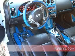 2008 nissan altima coupe exhaust jb u0027s 2008 nissan altima gloss blue dash kit
