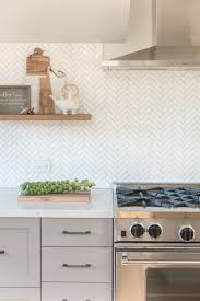 backsplash in the kitchen best 25 herringbone backsplash ideas on subway tile