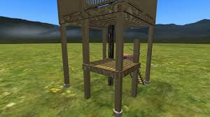 stairs for deerstand youtube