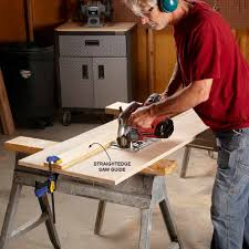 use circular saw as table saw great tips to get better cuts from your circular saw