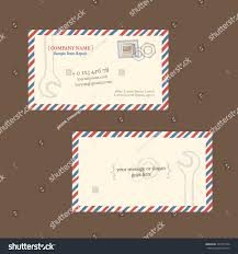 old radio repair business card vector stock vector 353373794