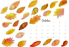 october printable calendar and wallpaper think crafts by