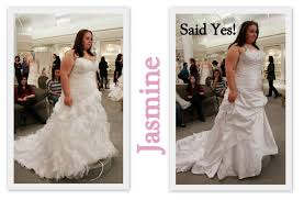 wedding dresses for larger say yes to the dress big bliss what happens when the zipper