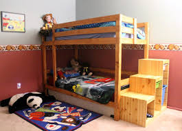 Bunk Bed Plans With Stairs 9 Free Bunk Bed Plans You Can Diy This Weekend