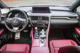 lexus rx dashboard 2016 lexus rx 350 f sport autos ca