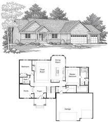 Impressive Design Rambler Floor Plans Sophisticated House Plans Rambler Contemporary Best Inspiration