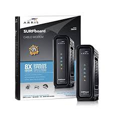 arris surfboard sb6141 lights amazon com arris surfboard sb6141 8x4 docsis 3 0 cable modem